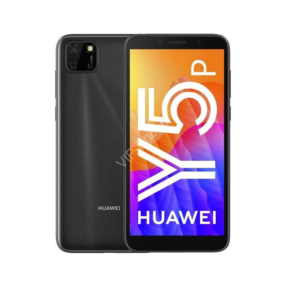 Huawei Y5P 32GB Dual-SIM fekete kártyafüggetlen mobiltelefon