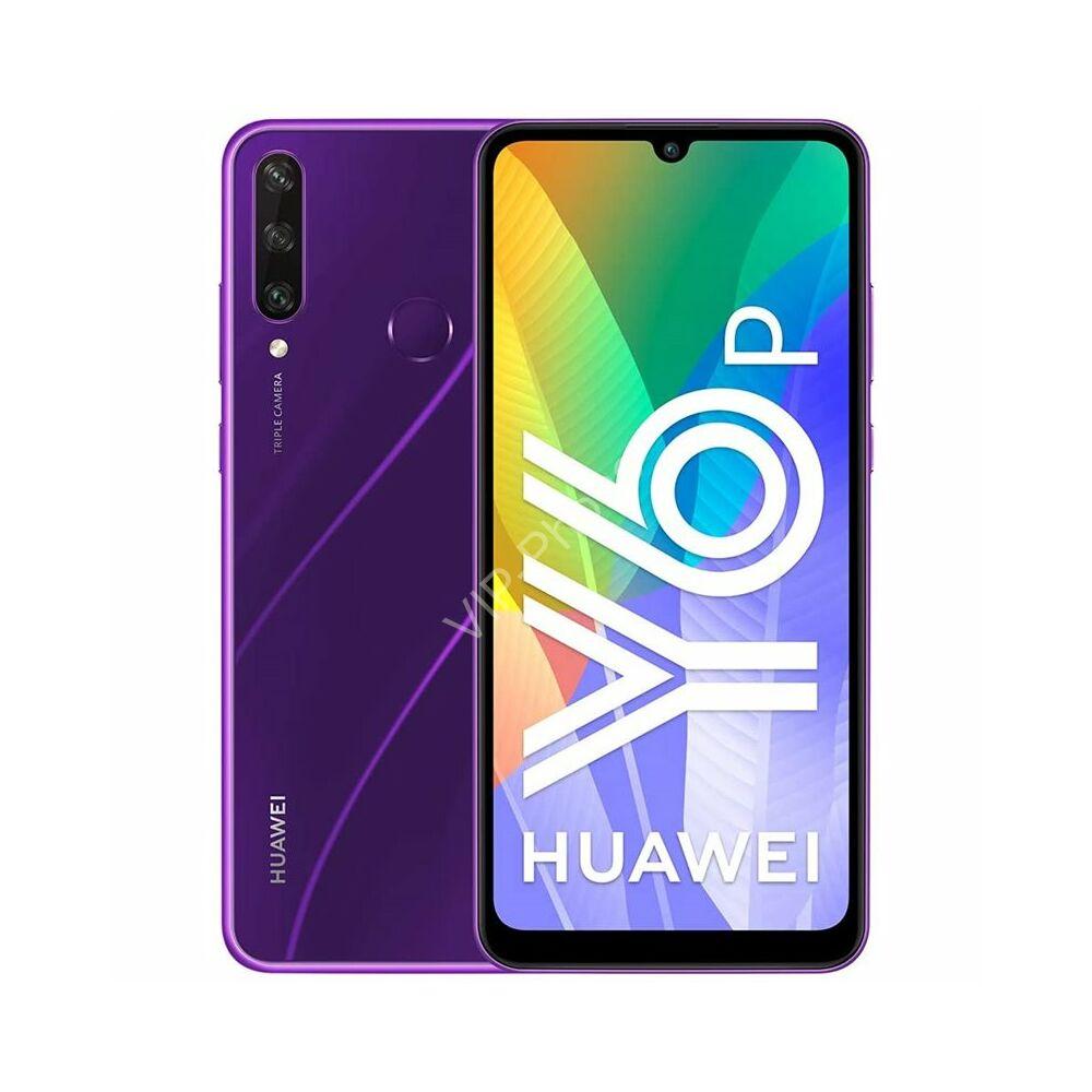 Huawei Y6P 3/64GB Dual-SIM lila kártyafüggetlen mobiltelefon