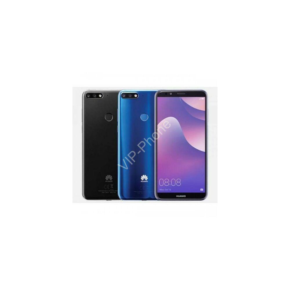 Huawei Y7 Prime 2018 Dual-SIM gyártói garanciás kártyafüggetlen mobiltelefon