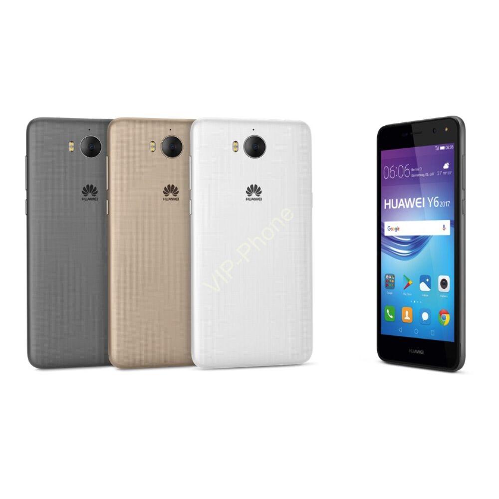 Huawei Y6 2017 Dual-SIM gyártói garanciás kártyafüggetlen mobiltelefon