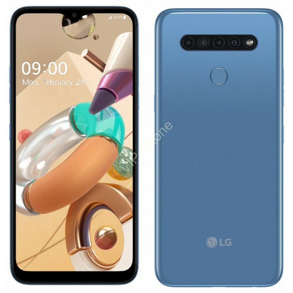LG K41S 32GB Dual-Sim kék kártyafüggetlen mobiltelefon