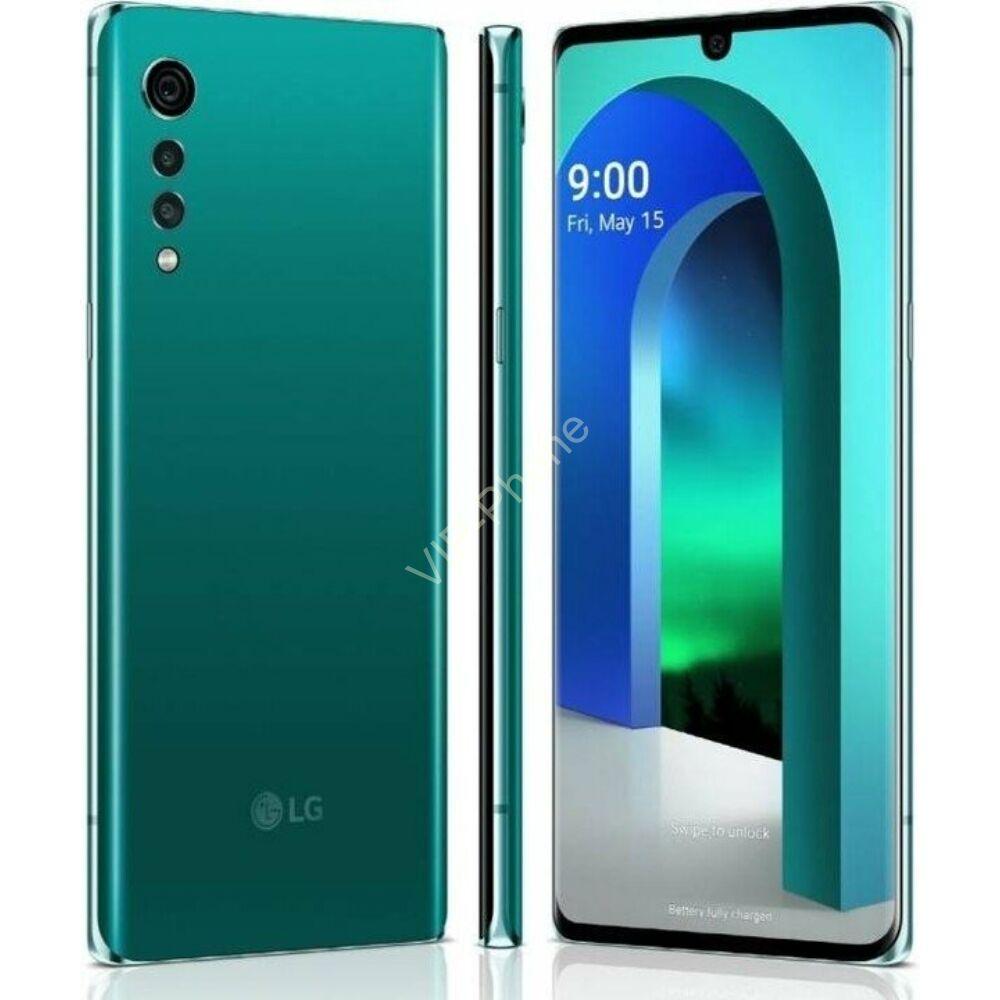 LG Velvet 5G 6/128GB zöld kártyafüggetlen mobiltelefon