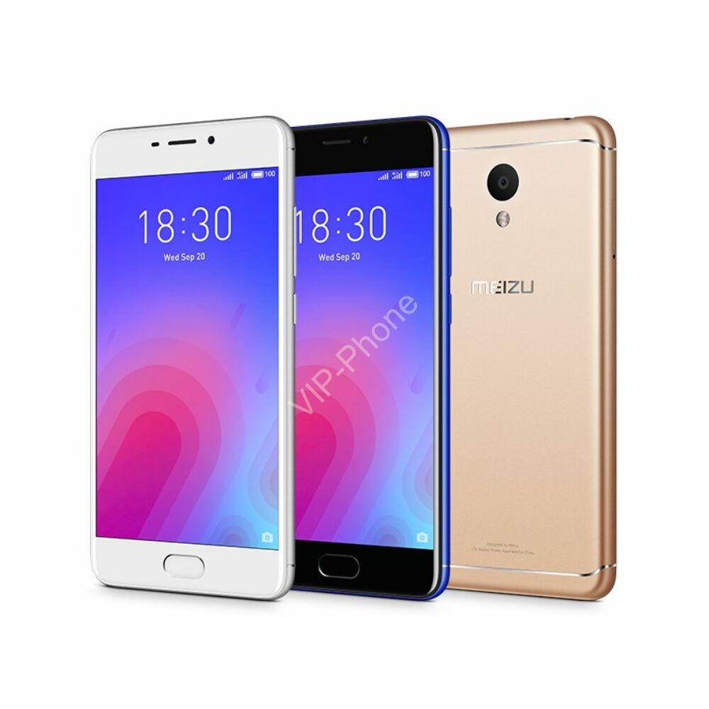Meizu M6 32GB Dual-Sim gyártói garanciás kártyafüggetlen mobiltelefon