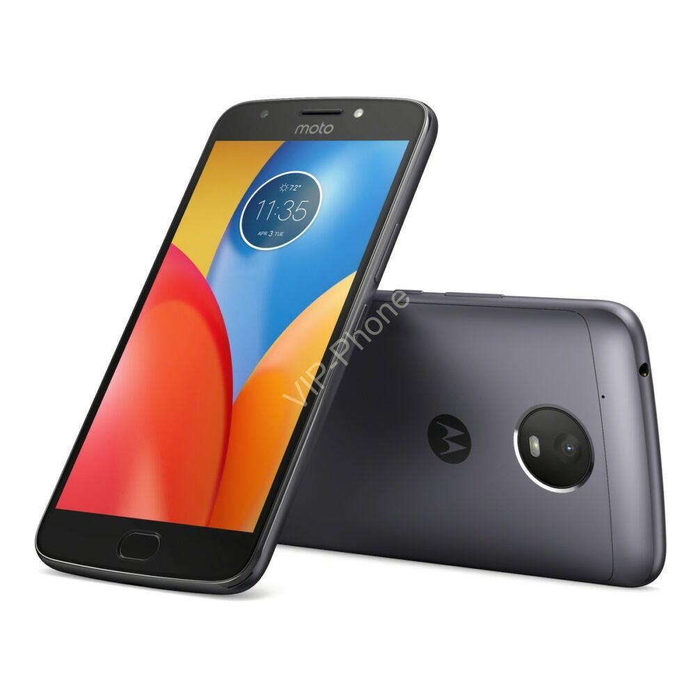 Motorola Moto E4 (XT1762) Dual-Sim szürke gyártói garanciás kártyafüggetlen mobiltelefon