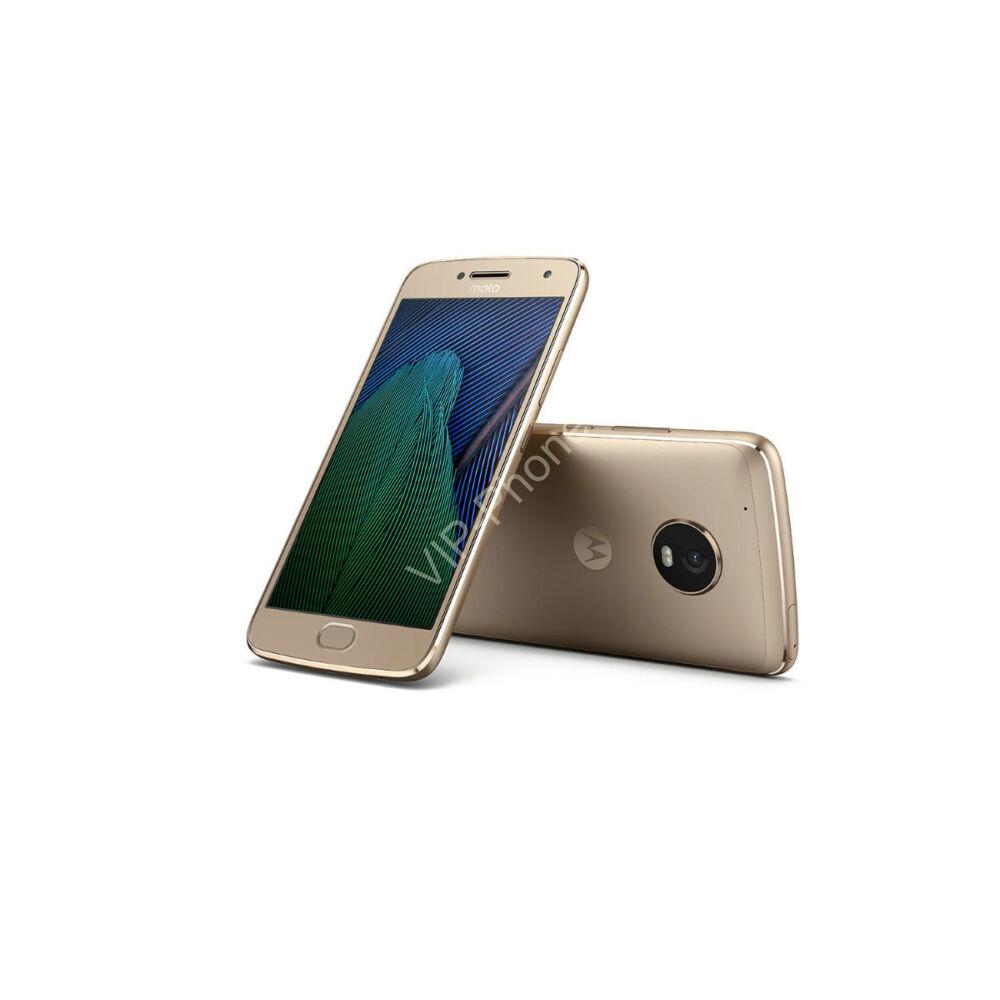 Motorola Moto G5 (XT1676) Arany Dual-Sim gyártói garanciás kártyafüggetlen mobiltelefon