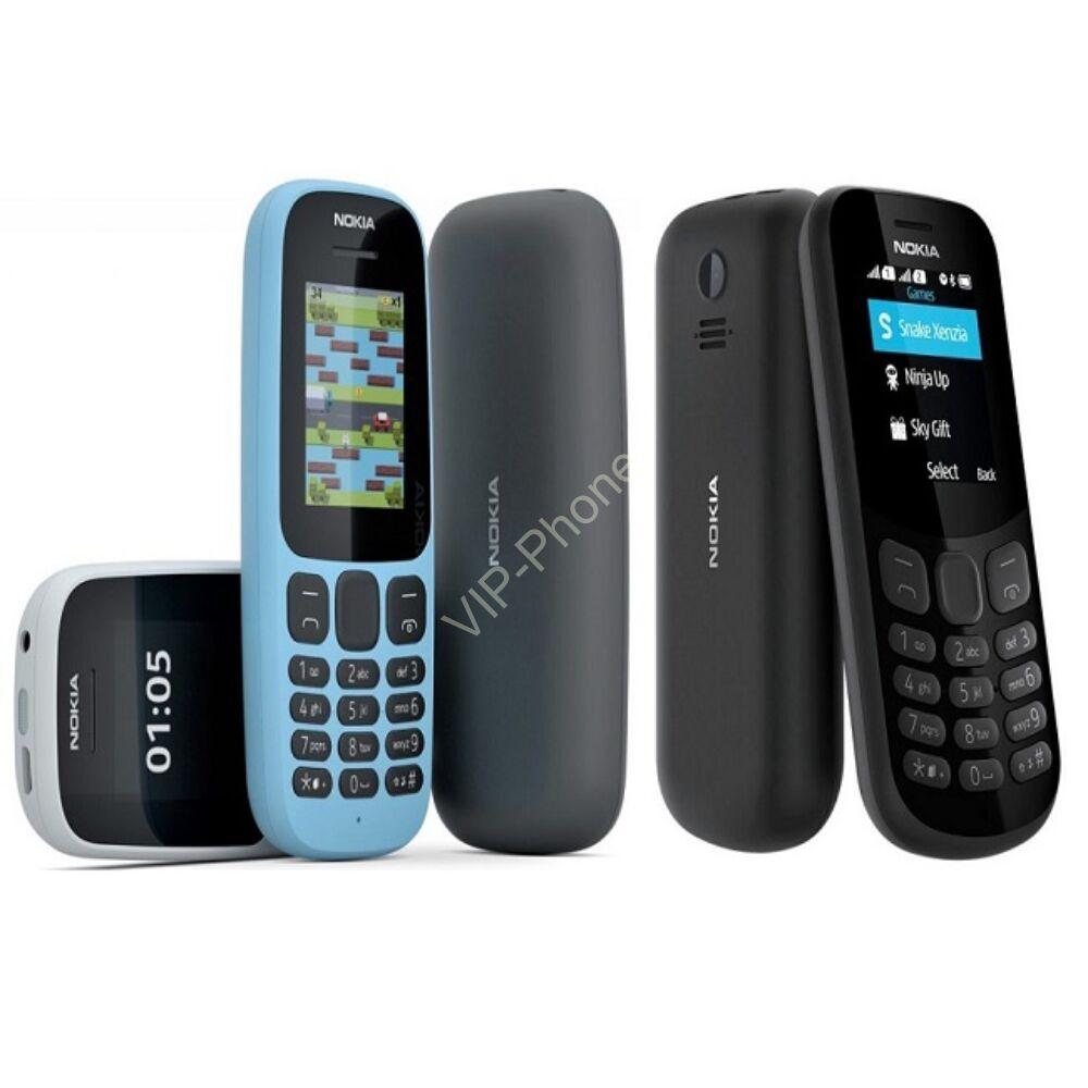 Nokia 105 (2017) Dual-Sim gyártói garanciás kártyafüggetlen mobiltelefon