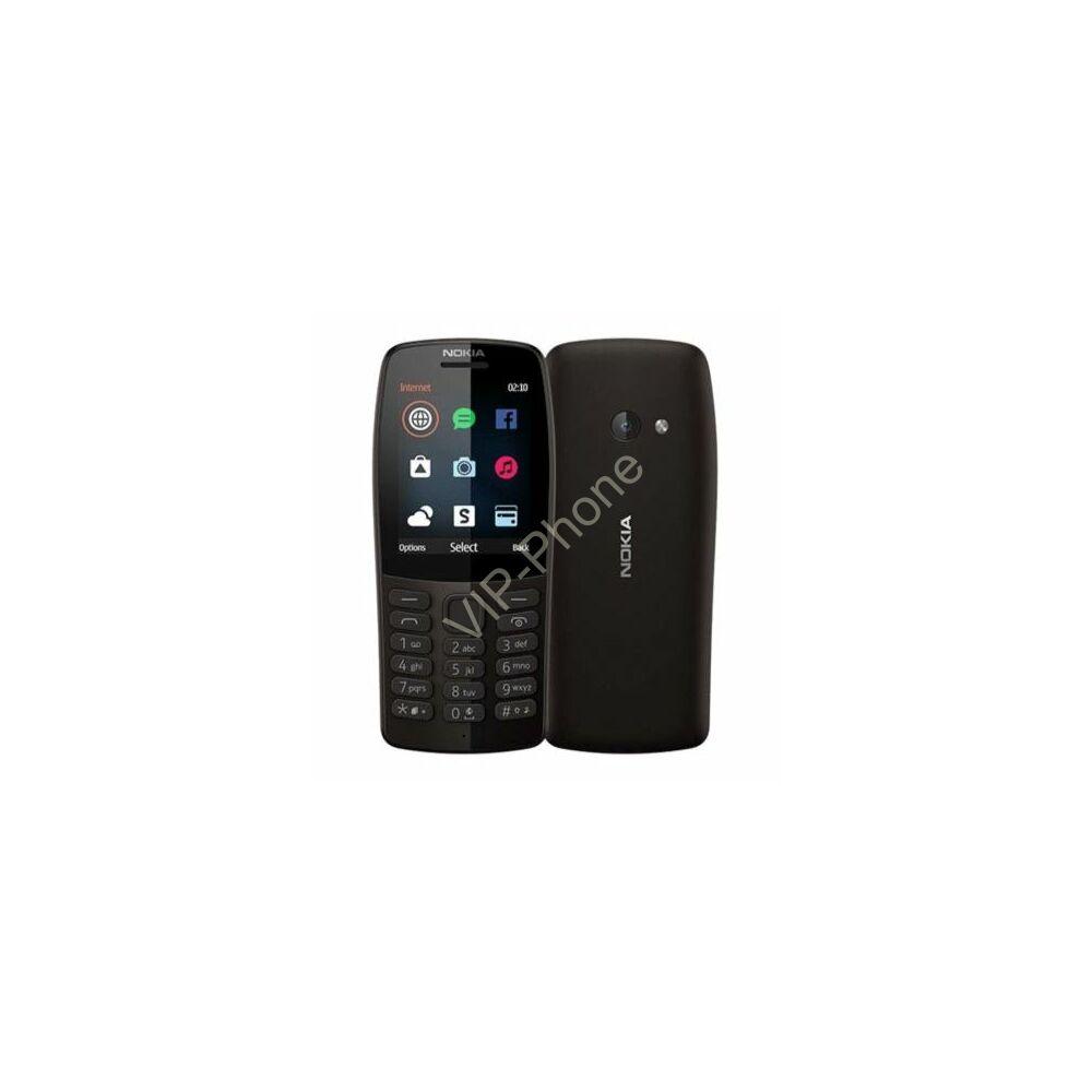 Nokia 110 (2019) Dual-Sim fekete gyártói garanciás kártyafüggetlen mobiltelefon