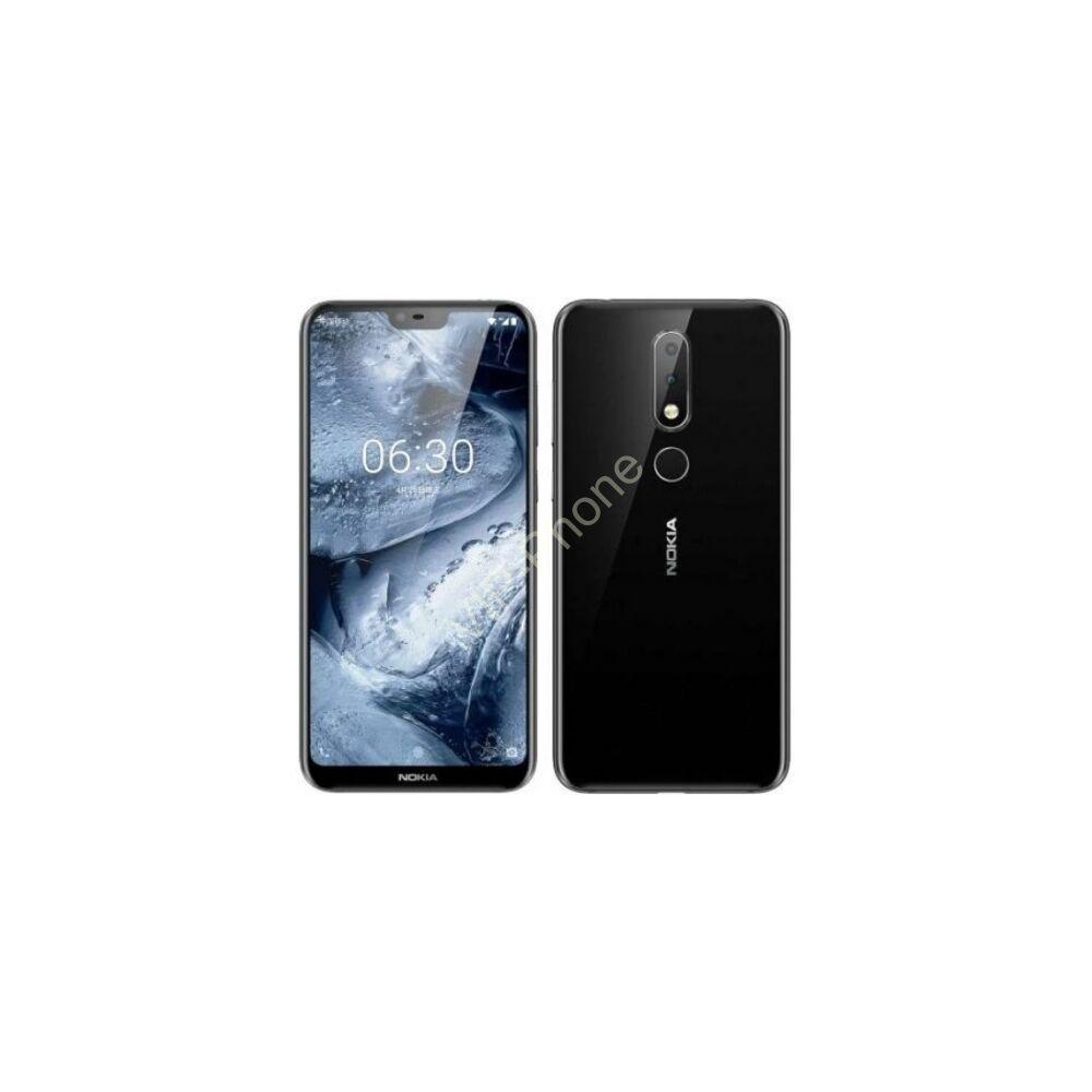 Nokia 5.1 Plus 32GB Dual-SIM fekete gyártói garanciás kártyafüggetlen mobiltelefon