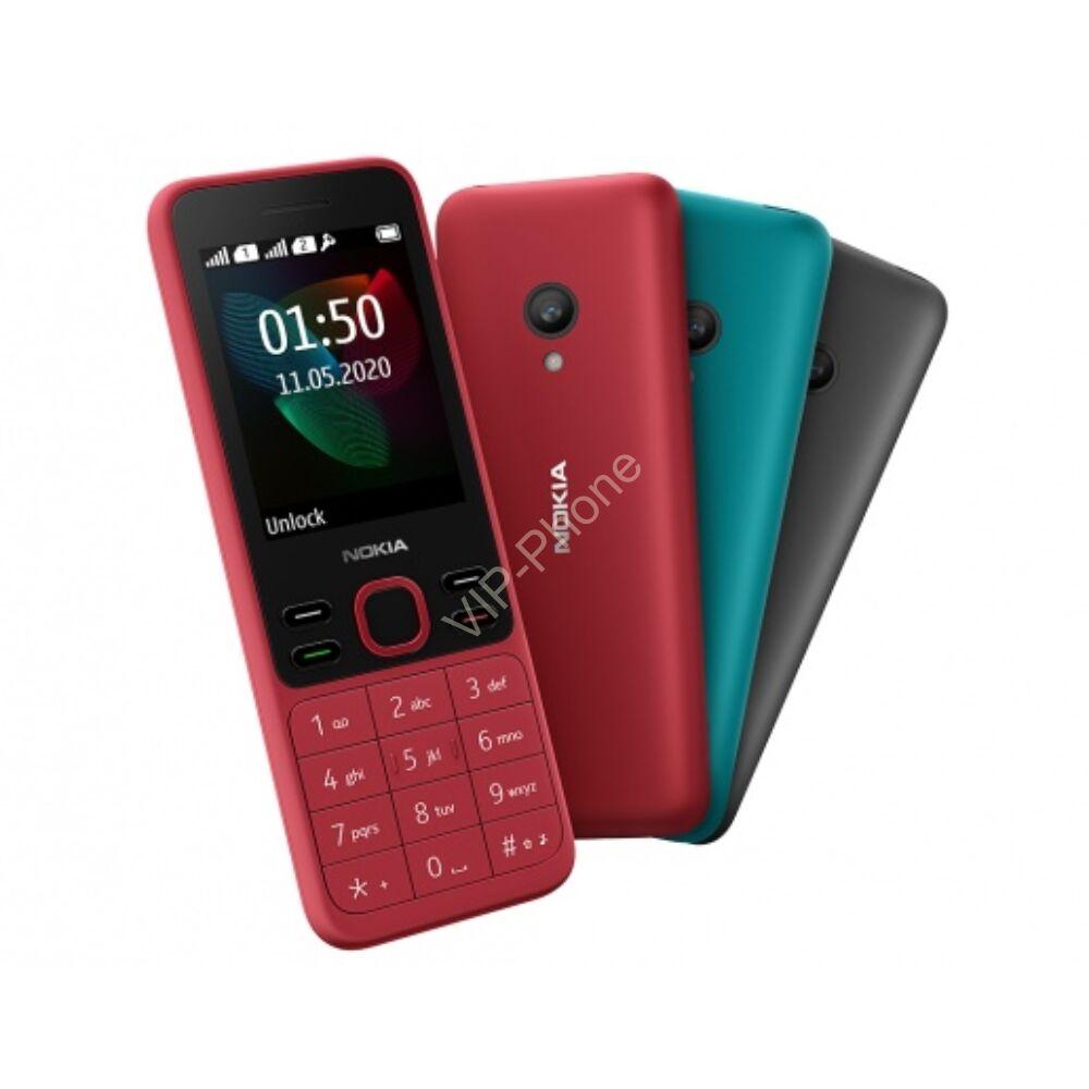 Nokia 150 Dual-Sim Fekete kártyafüggetlen mobiltelefon gyártói garanciával