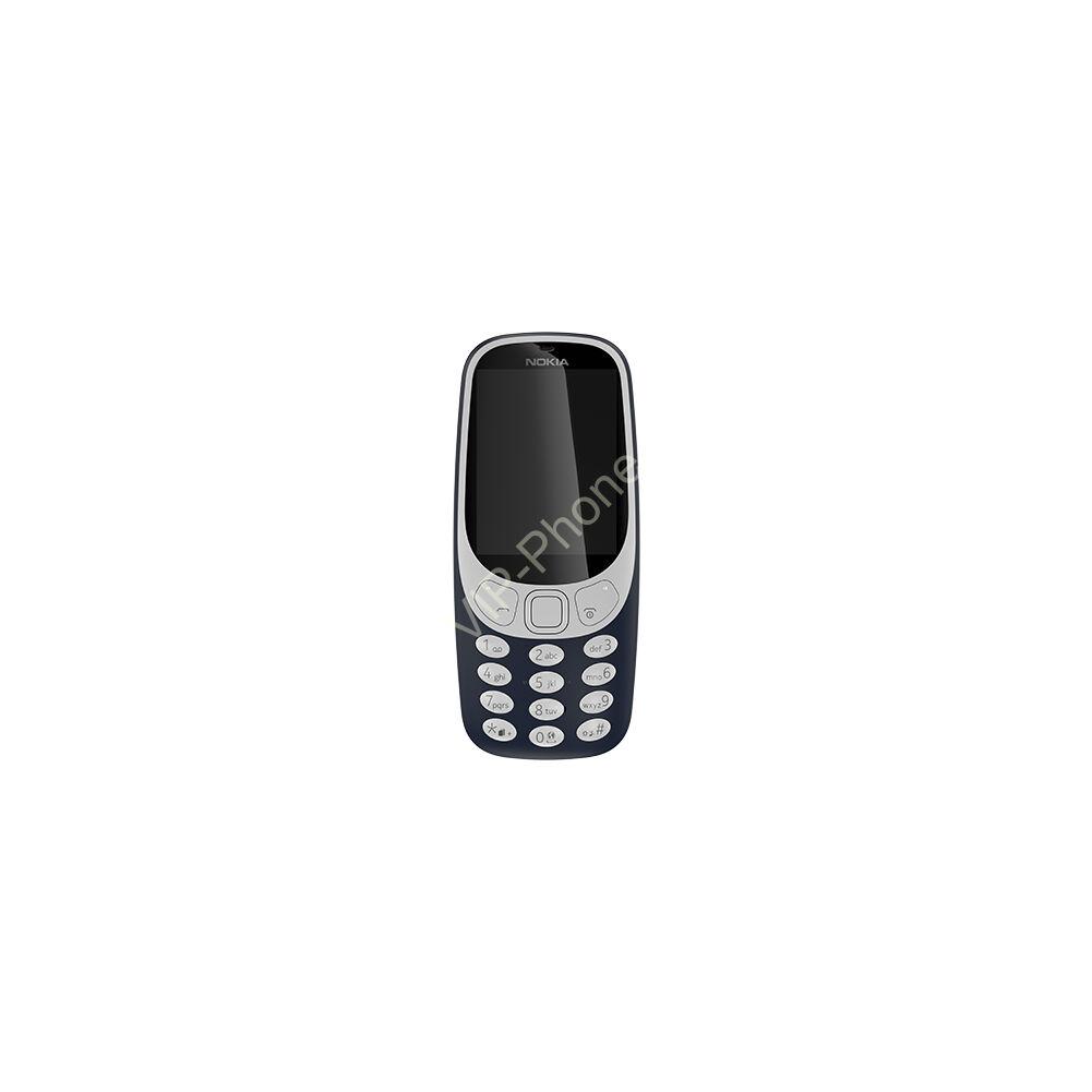 Nokia 3310 (2017) Dual-Sim kék gyártói garanciás kártyafüggetlen mobiltelefon