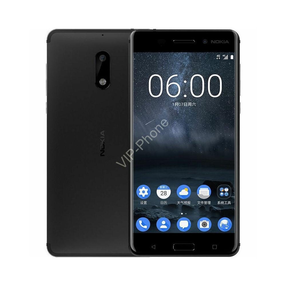 Nokia 6 Dual-SIM fekete gyártói garanciás kártyafüggetlen mobiltelefon