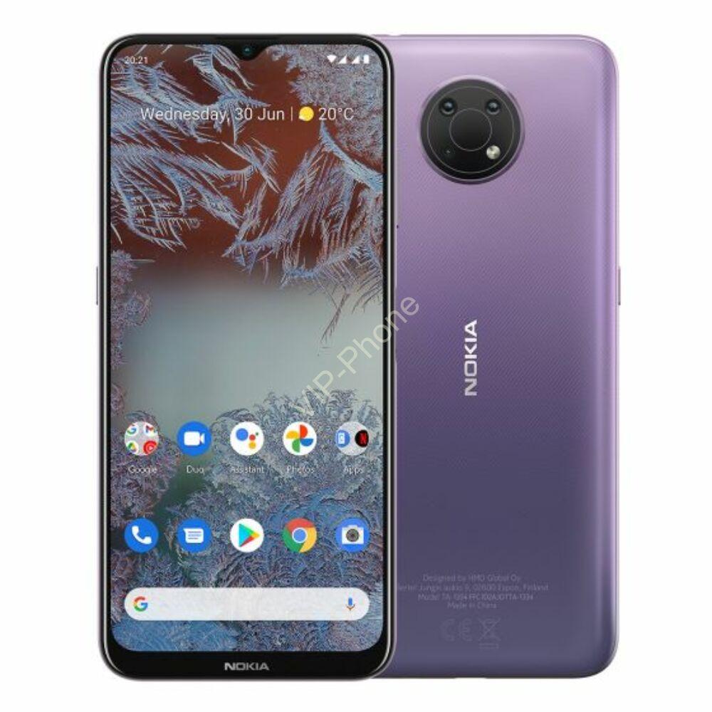 Nokia G10 Dual Sim LTE 3GB RAM 32GB Kártyafüggetlen mobiltelefon Lila