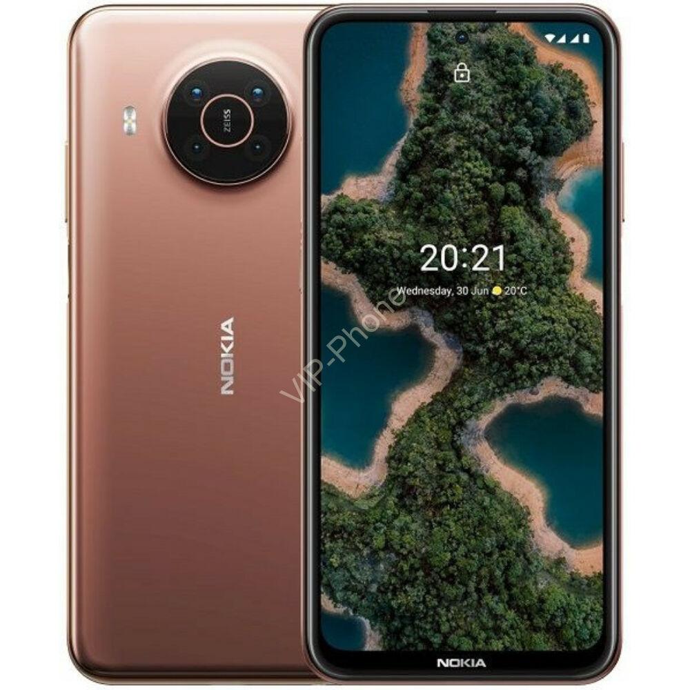Nokia X20 Dual Sim 5G 8GB RAM 128GB Kártyafüggetlen mobiltelefon Rozé arany