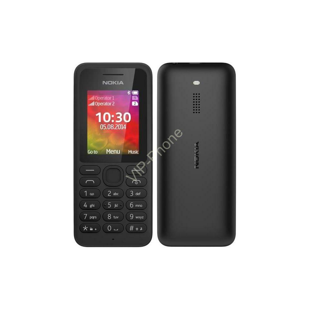 Nokia 130 Dual-Sim Fekete kártyafüggetlen mobiltelefon