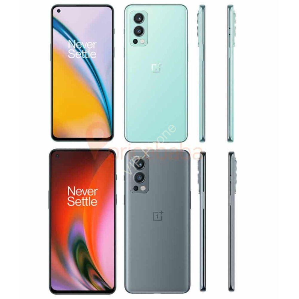 OnePlus Nord 2 5G Dual Sim Kártyafüggetlen mobiltelefon