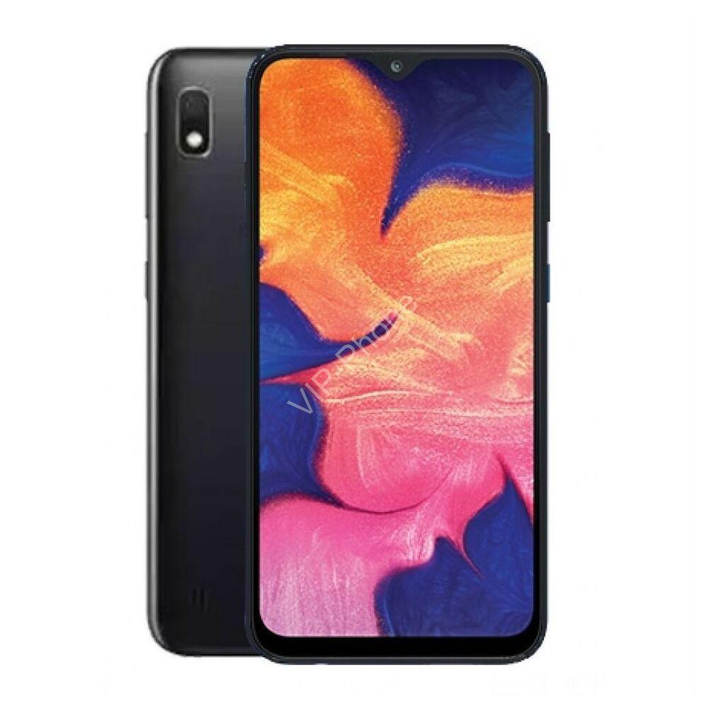 Samsung A105F Galaxy A10 32GB Dual-Sim fekete gyártói garanciás kártyafüggetlen mobiltelefon