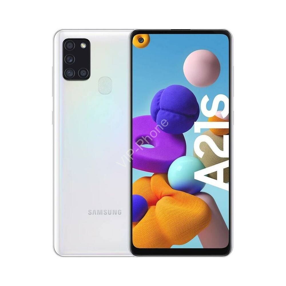 Samsung A217F Galaxy A21s 3/32GB Dual-Sim fehér kártyafüggetlen mobiltelefon
