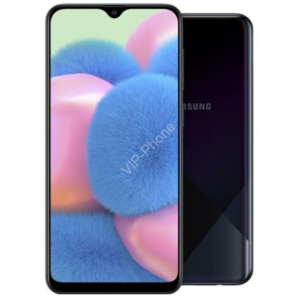 Samsung A307F Galaxy A30s 64GB Dual-Sim fekete gyártói garanciás kártyafüggetlen mobiltelefon