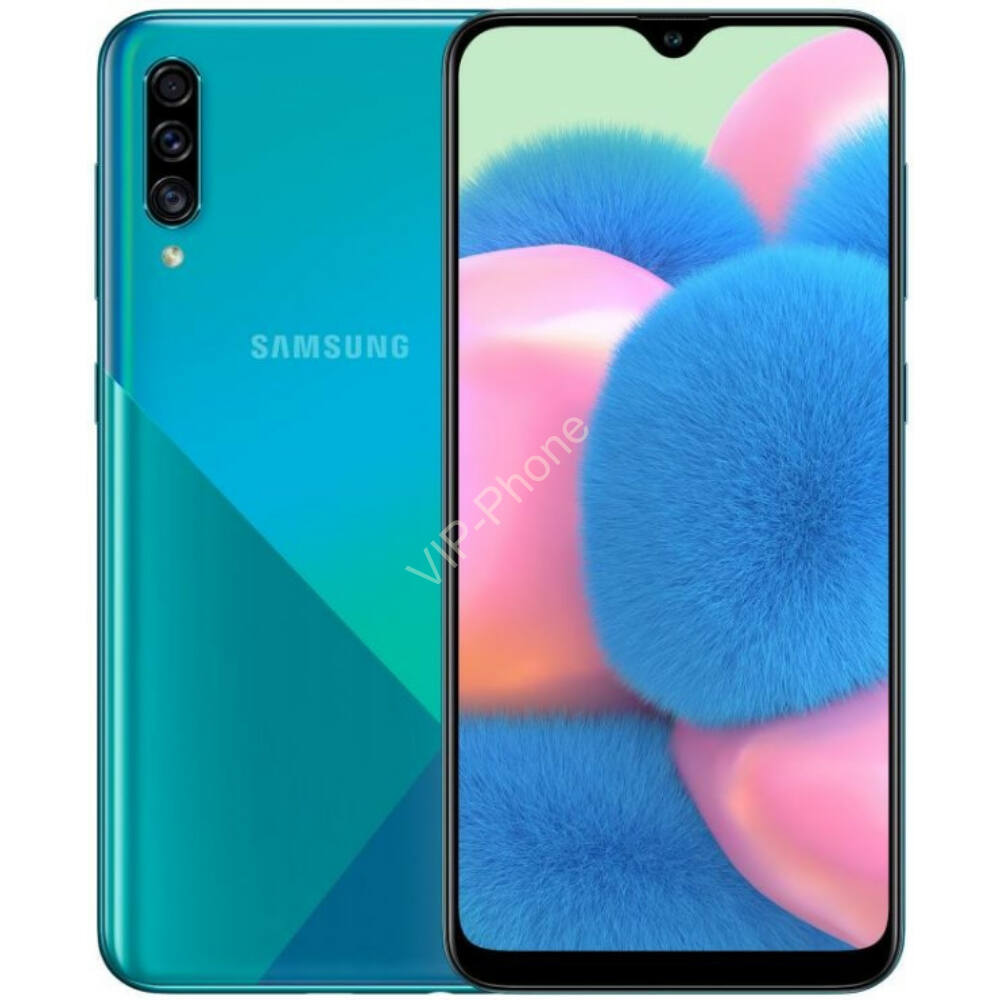 Samsung A307F Galaxy A30s 64GB Dual-Sim zöld kártyafüggetlen mobiltelefon