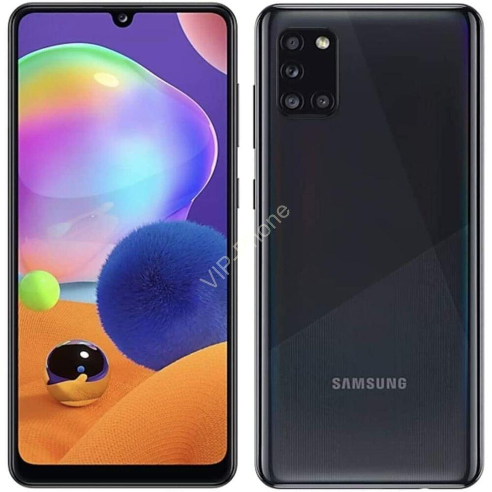 Samsung A315F Galaxy A31 4/64GB Dual-Sim fekete kártyafüggetlen mobiltelefon