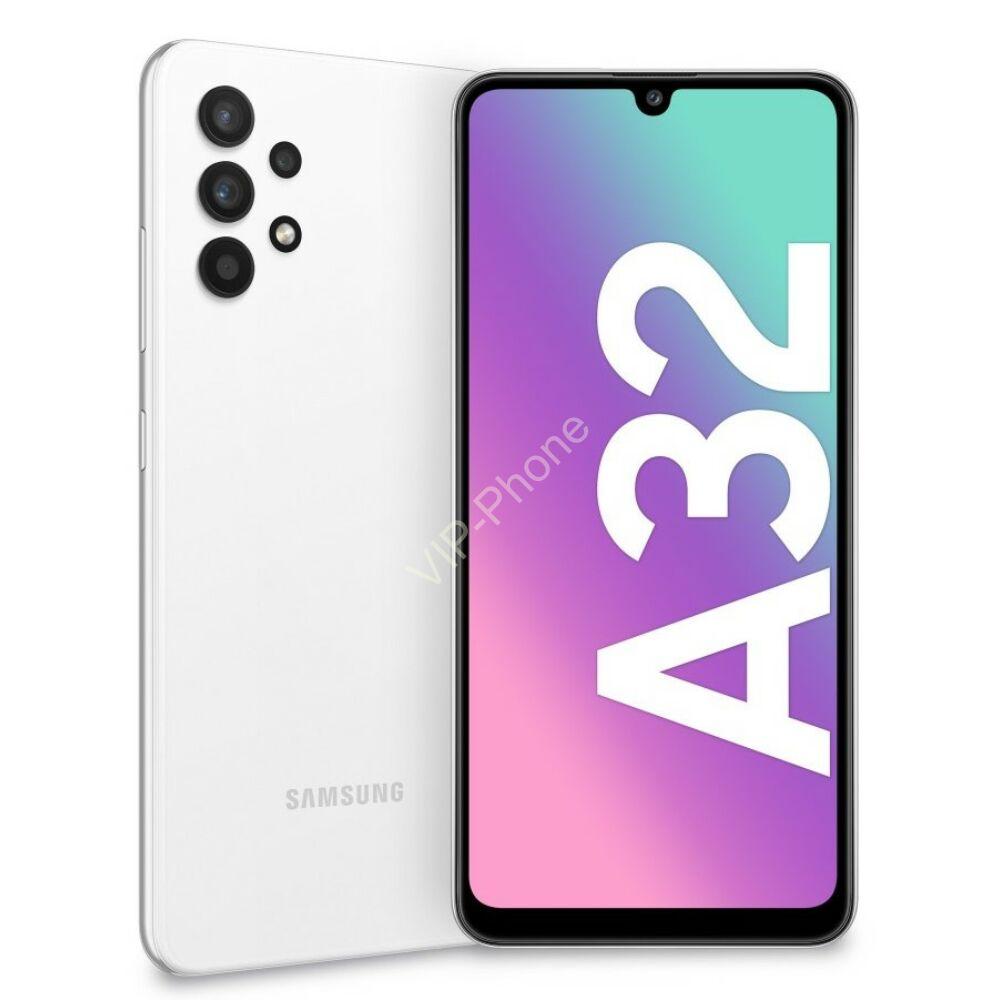 Samsung A325 Galaxy A32 5G 4/128GB Fehér Dual-Sim kártyafüggetlen mobiltelefon