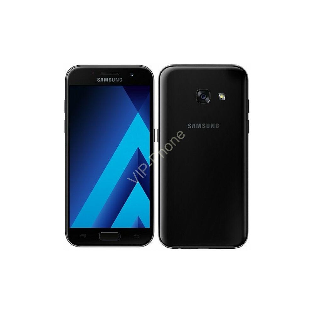 Samsung Galaxy A3 2017 (A320F) Fekete gyártói garanciás kártyafüggetlen mobiltelefon