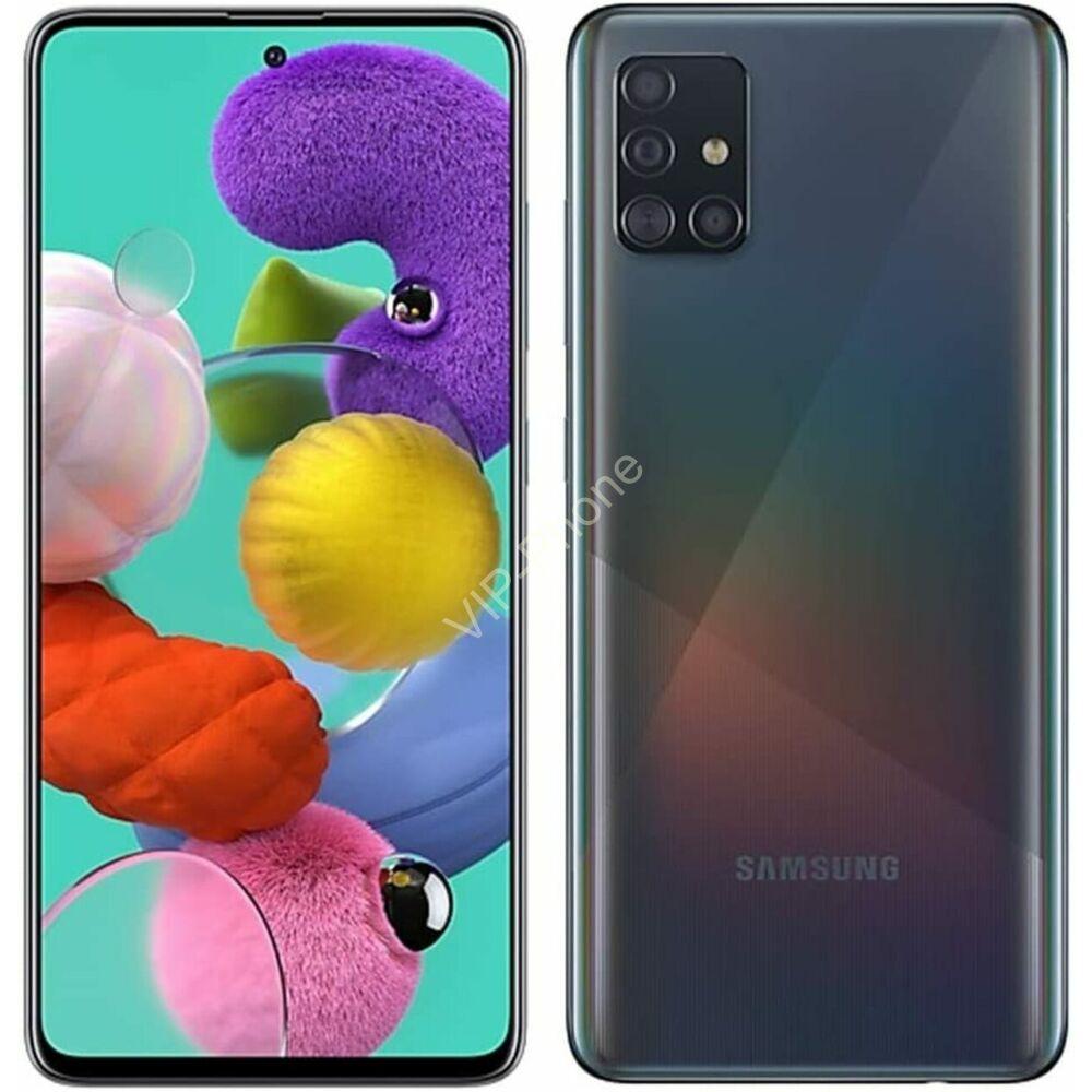 Samsung A515F Galaxy A51 4/128GB Dual-Sim fekete kártyafüggetlen mobiltelefon