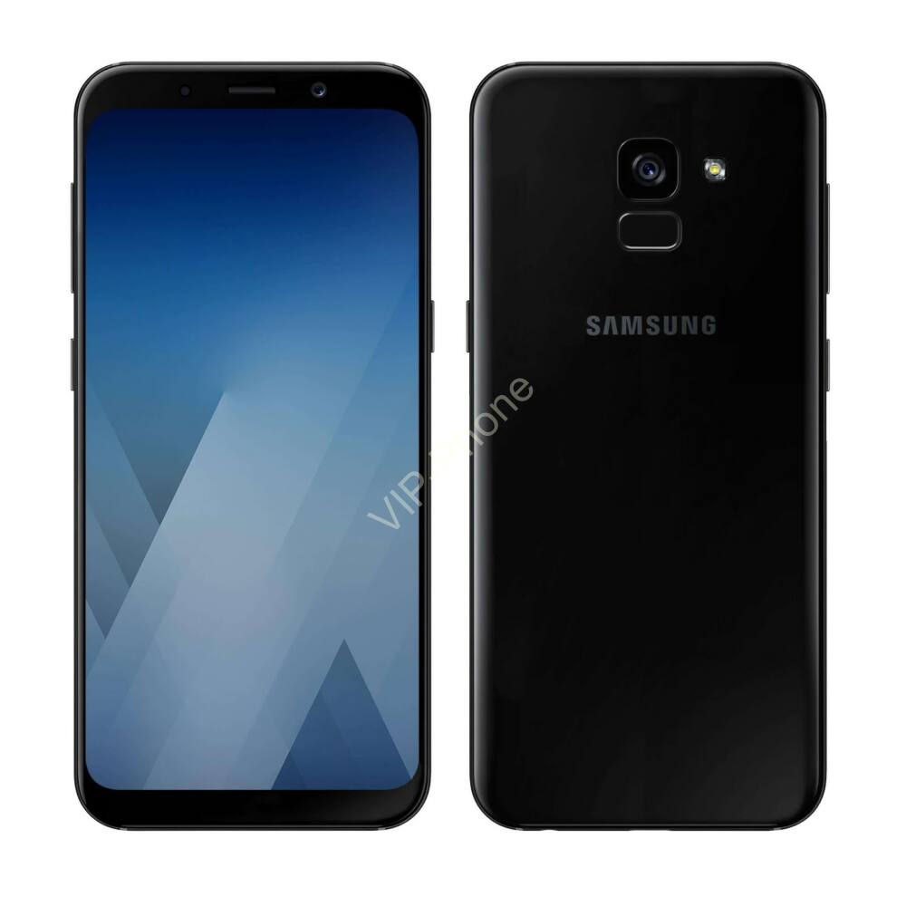 Samsung Galaxy A530 A8 (2018) Dual-Sim fekete gyártói garanciás kártyafüggetlen mobiltelefon