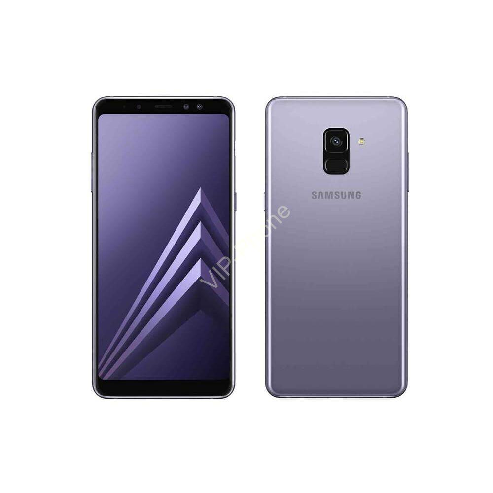 Samsung Galaxy A530 A8 (2018) Dual-Sim lila gyártói garanciás kártyafüggetlen mobiltelefon