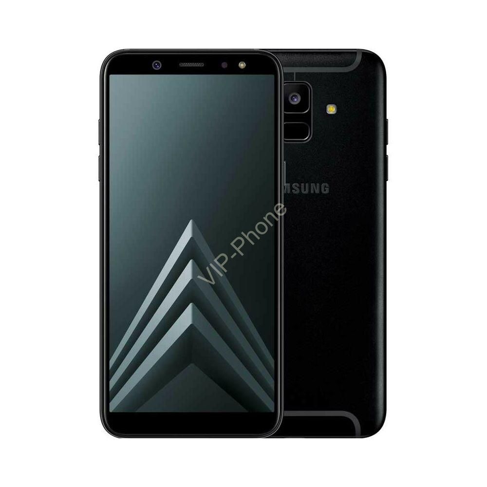 Samsung A600F Galaxy A6 (2018) fekete kártyafüggetlen mobiltelefon