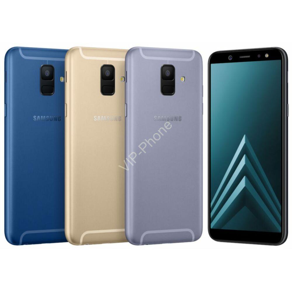 Samsung A600F Galaxy A6 (2018) Dual-Sim gyártói garanciás kártyafüggetlen mobiltelefon