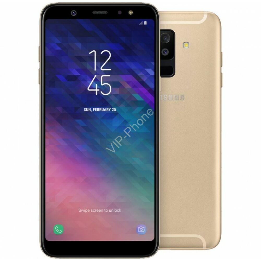 Samsung A605F Galaxy A6+ (2018) Dual-Sim arany kártyafüggetlen mobiltelefon