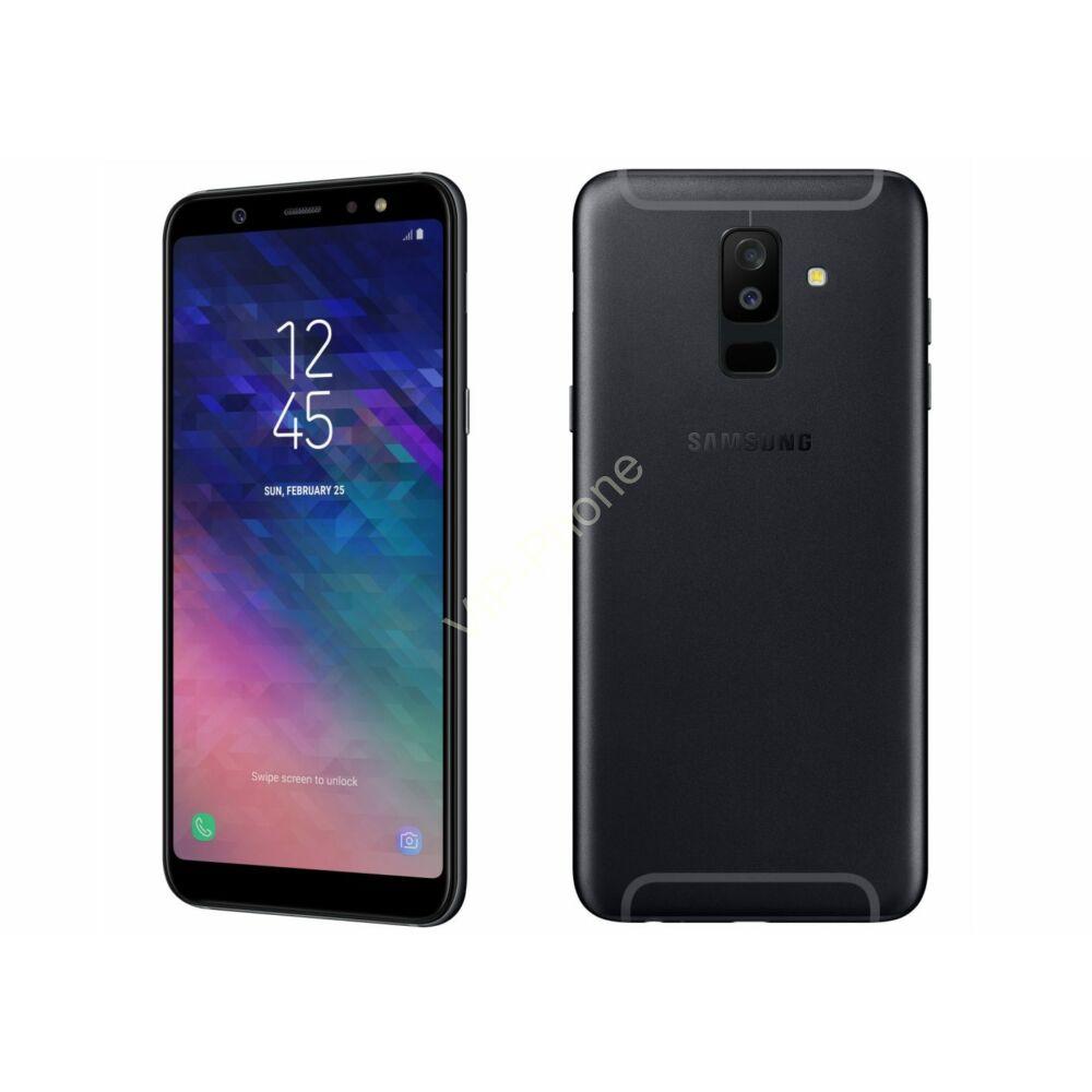 Samsung A605F Galaxy A6+ (2018) fekete kártyafüggetlen mobiltelefon