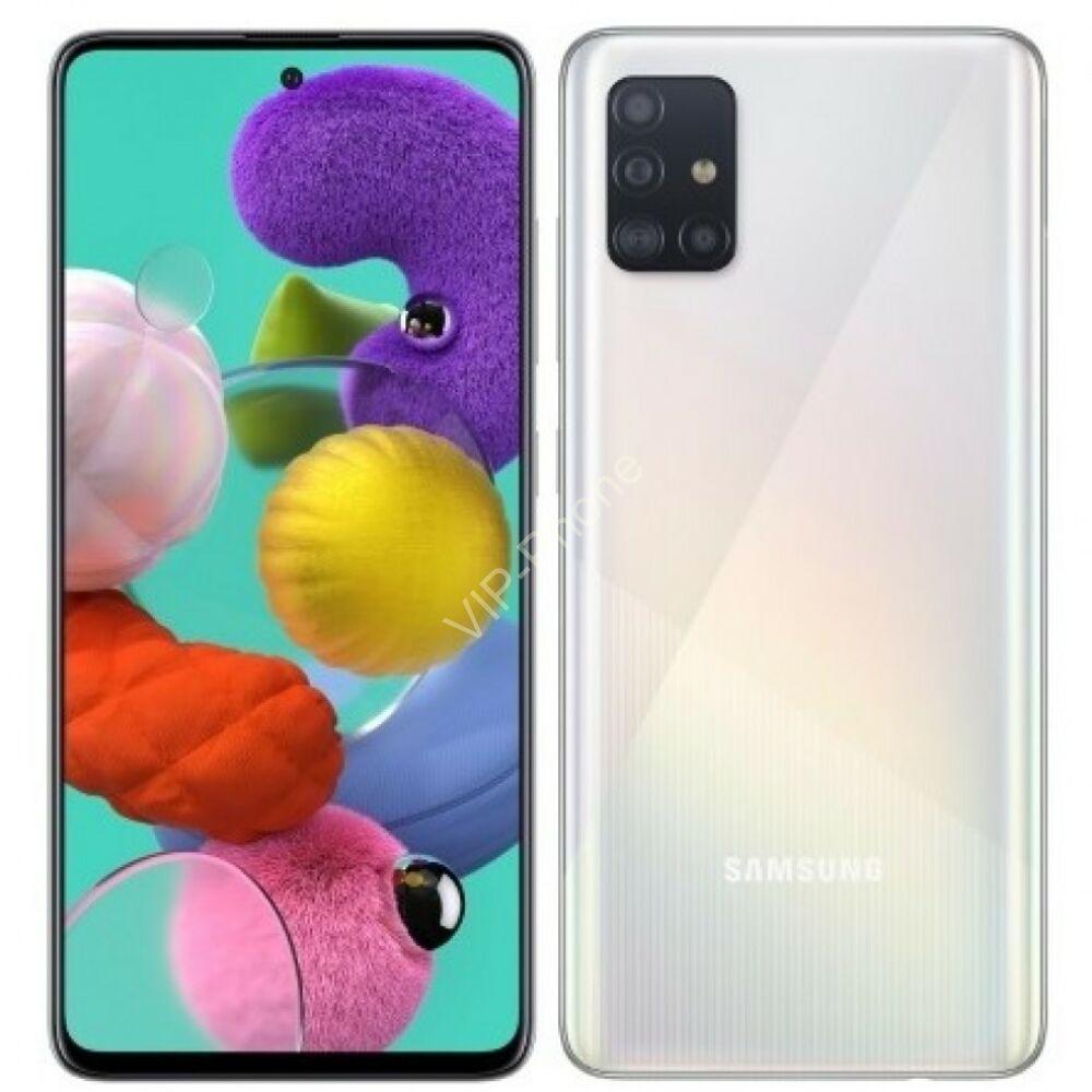 Samsung A715F Galaxy A71 6/128GB Dual-Sim ezüst kártyafüggetlen mobiltelefon
