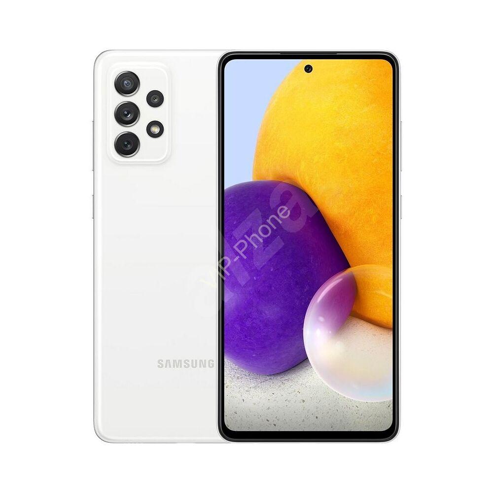 Samsung A725 Galaxy A72 6/128GB Fehér Dual-Sim kártyafüggetlen mobiltelefon