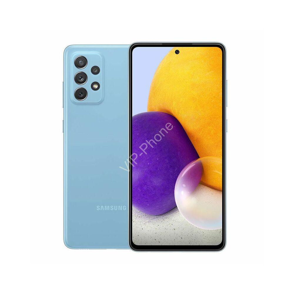 Samsung A725 Galaxy A72 6/128GB Kék Dual-Sim kártyafüggetlen mobiltelefon