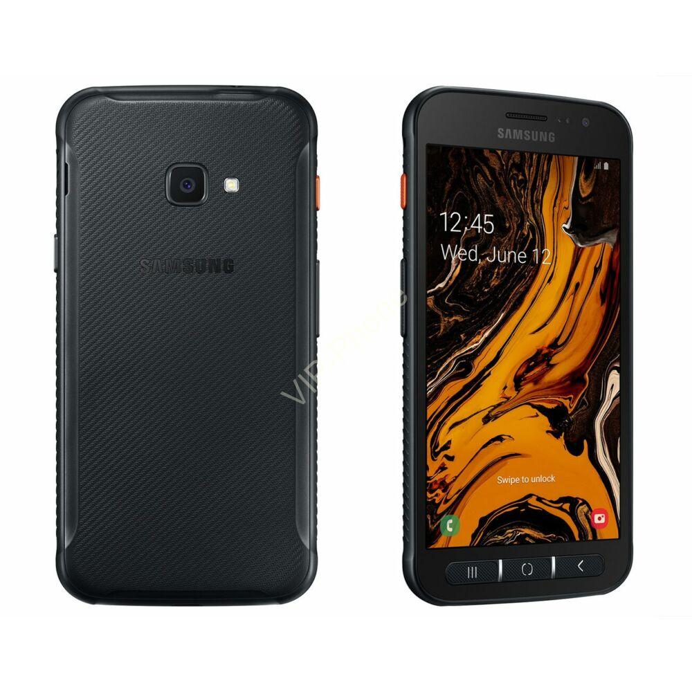 Samsung G398F Galaxy Xcover 4s fekete gyártói garanciás kártyafüggetlen mobiltelefon