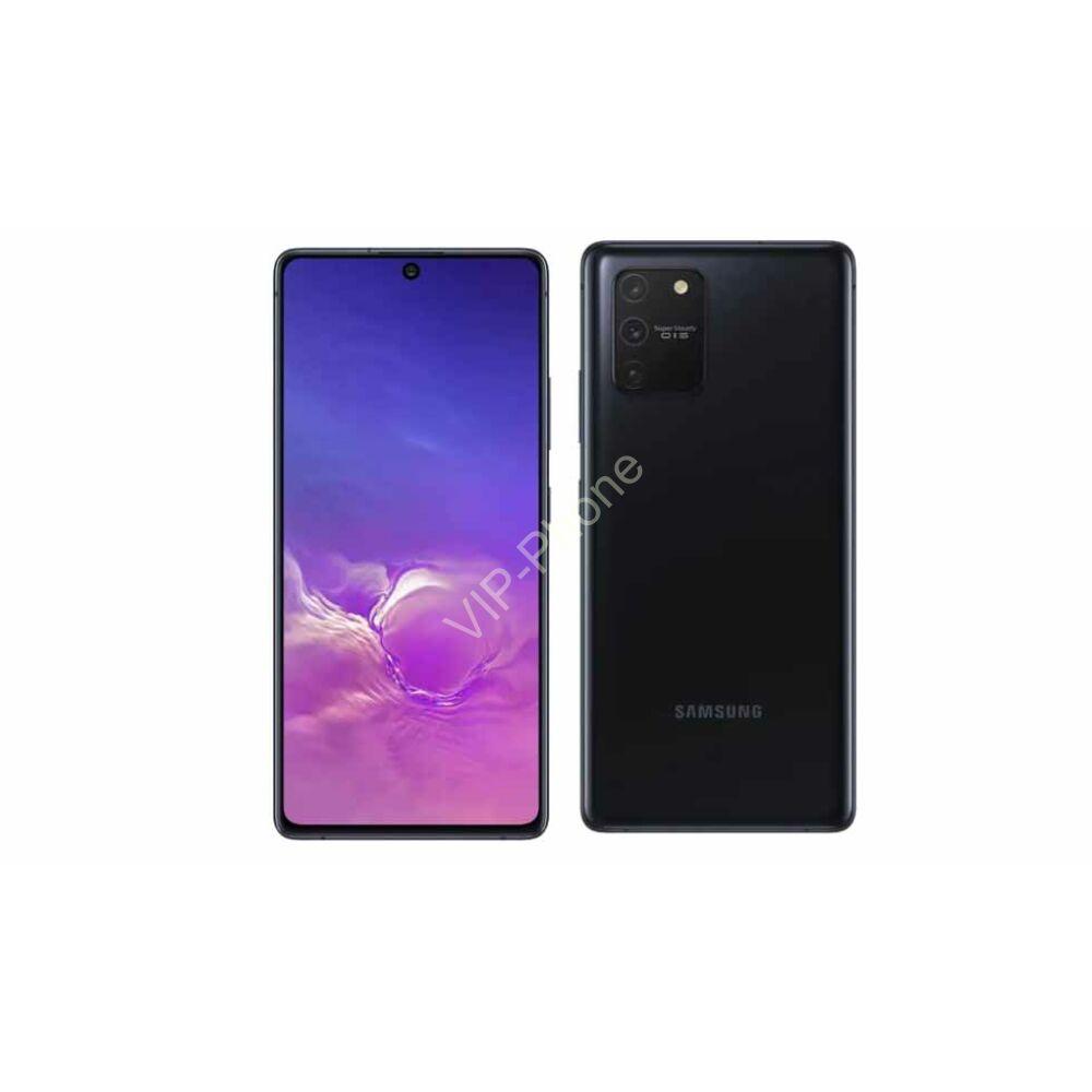 Samsung G770 Galaxy S10 Lite 8/128GB Dual-Sim fekete gyártói garanciás kártyafüggetlen mobiltelefon