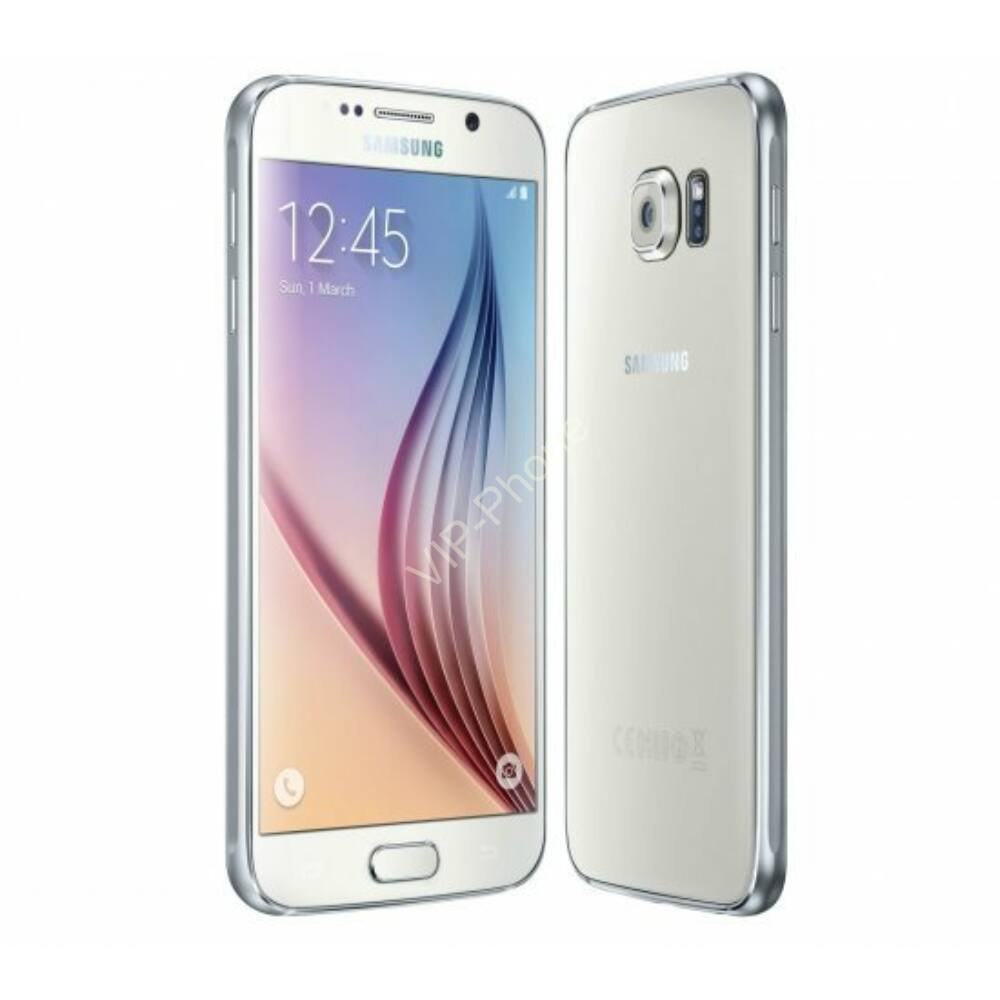 HASZNÁLT Samsung Galaxy S6 (G920F) Fehér kártyafüggetlen mobiltelefon