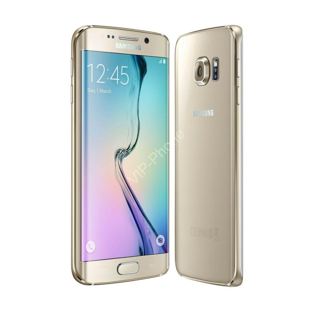 HASZNÁLT Samsung Galaxy S6 edge Plus (G928F) Arany kártyafüggetlen mobiltelefon
