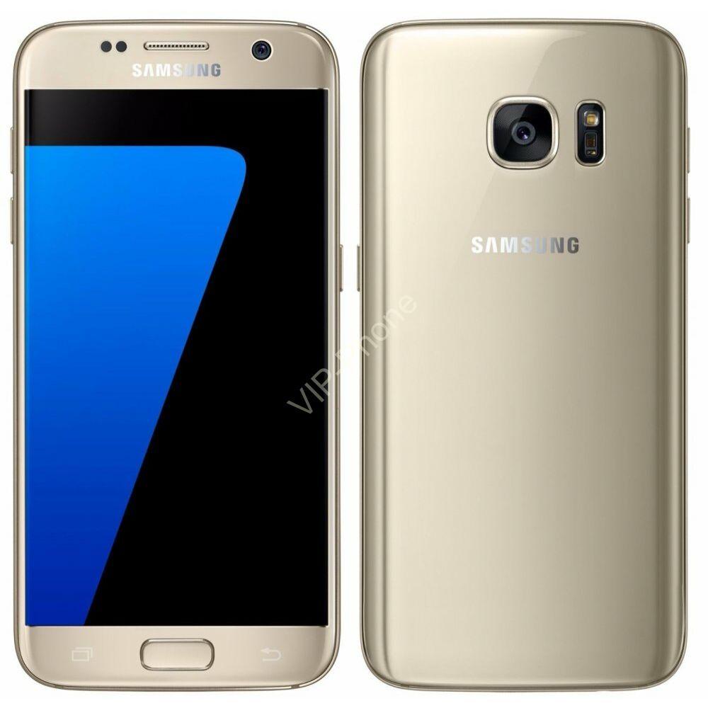 HASZNÁLT Samsung Galaxy S7 (G930F) Arany kártyafüggetlen mobiltelefon