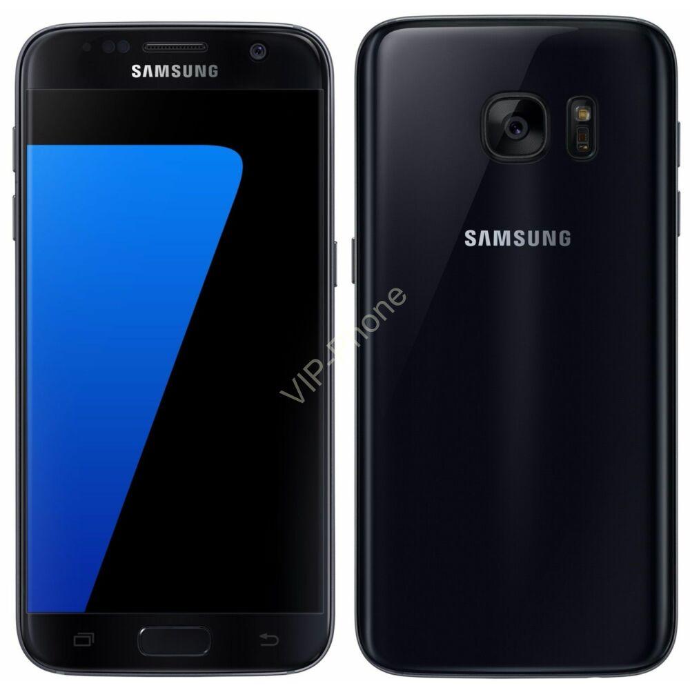 Samsung Galaxy S7 32GB (G930F) Fekete gyártói garanciás kártyafüggetlen mobiltelefon