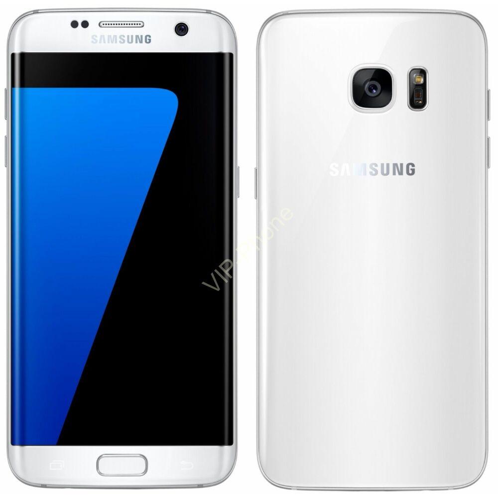 HASZNÁLT Samsung Galaxy S7 edge (G935F) Fehér kártyafüggetlen mobiltelefon