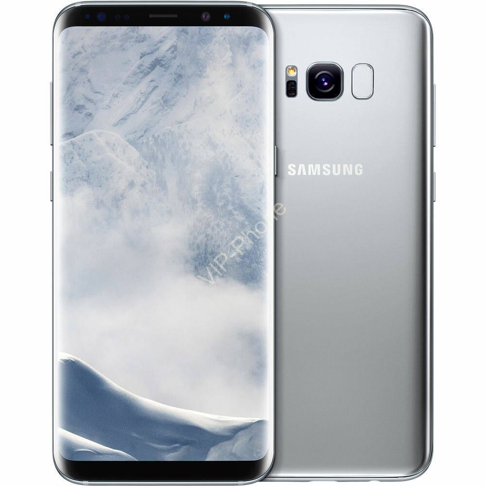 Samsung Galaxy S8 64GB (G950F) Ezüst kártyafüggetlen mobiltelefon