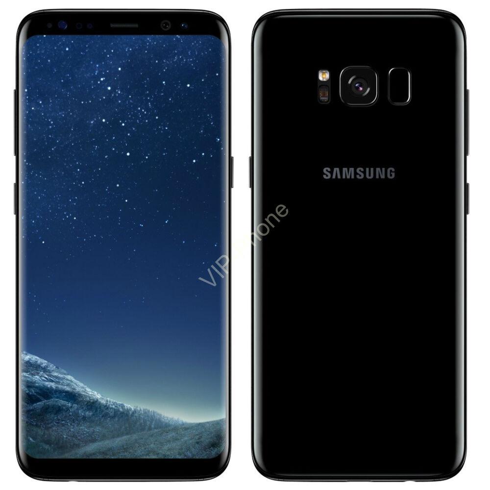 Samsung Galaxy S8 64GB (G950F) Fekete kártyafüggetlen mobiltelefon