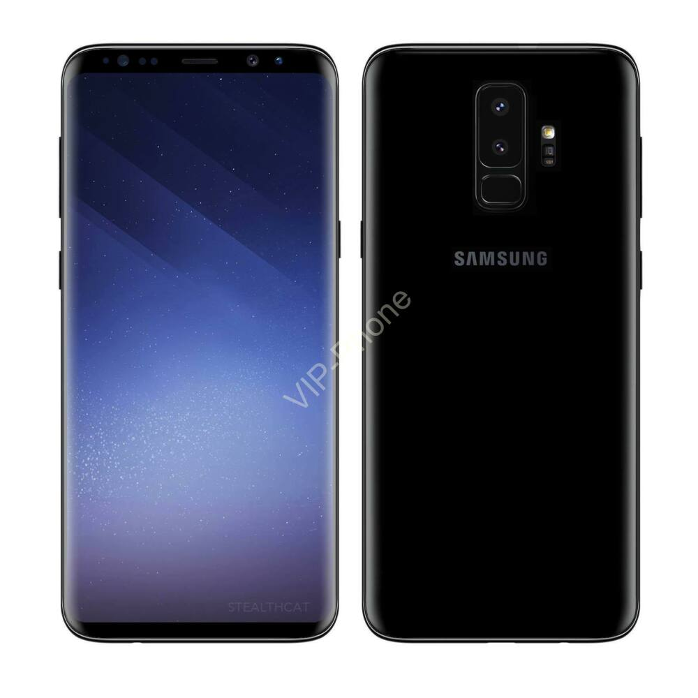 Samsung G965 Galaxy S9+ 64GB Dual-Sim fekete kártyafüggetlen mobiltelefon