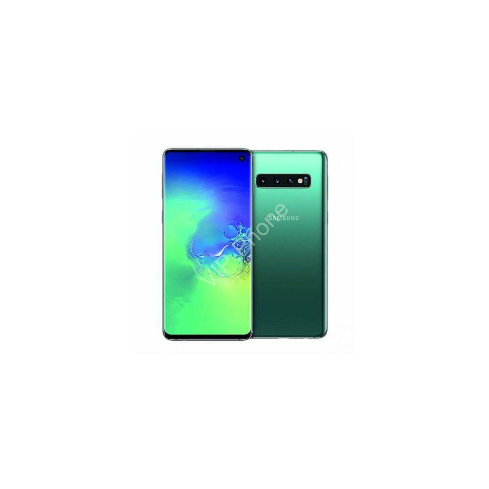 Samsung G973 Galaxy S10 128GB Dual-Sim zöld gyártói garanciás kártyafüggetlen mobiltelefon