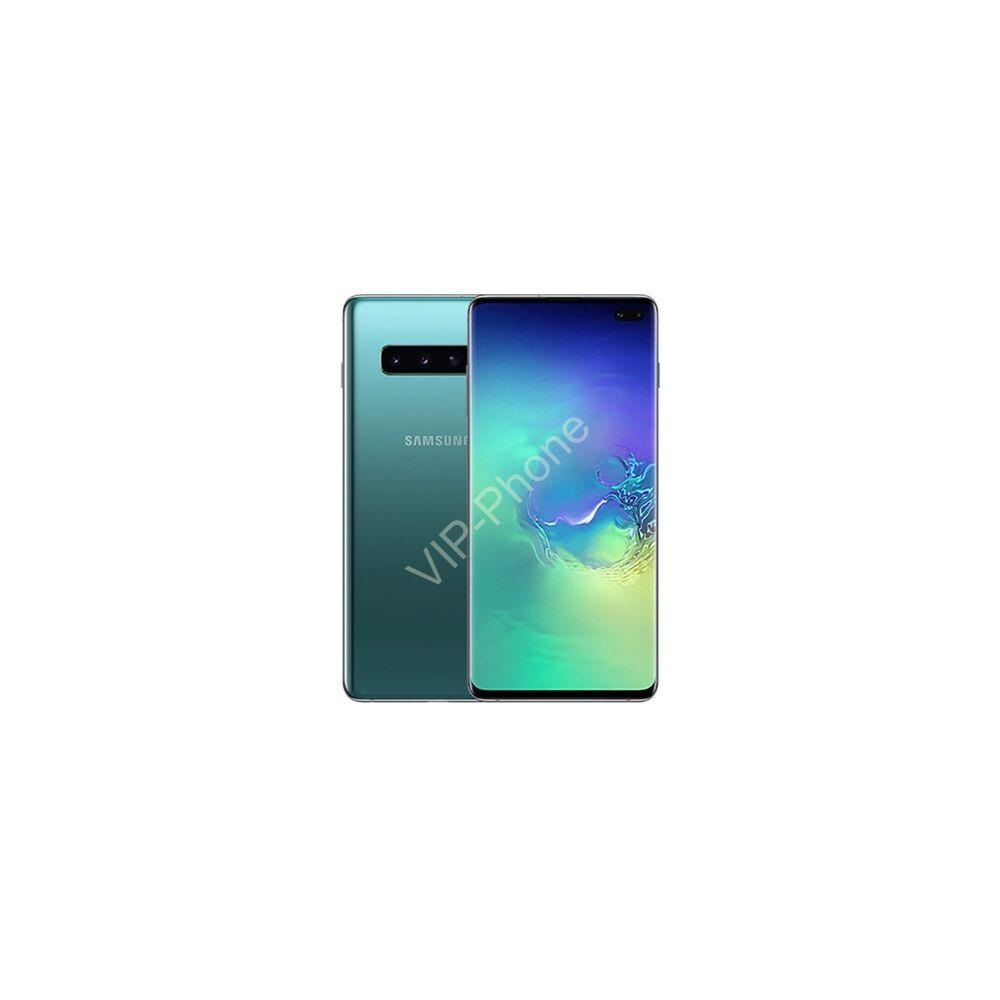 Samsung G975 Galaxy S10+ 128GB Dual-Sim zöld gyártói garanciás kártyafüggetlen mobiltelefon