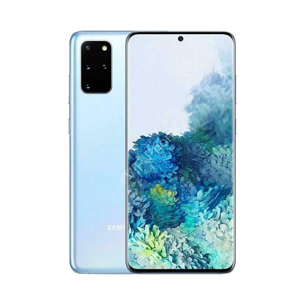 Samsung G985 Galaxy S20+ 128GB Dual-Sim kék gyártói garanciás kártyafüggetlen mobiltelefon