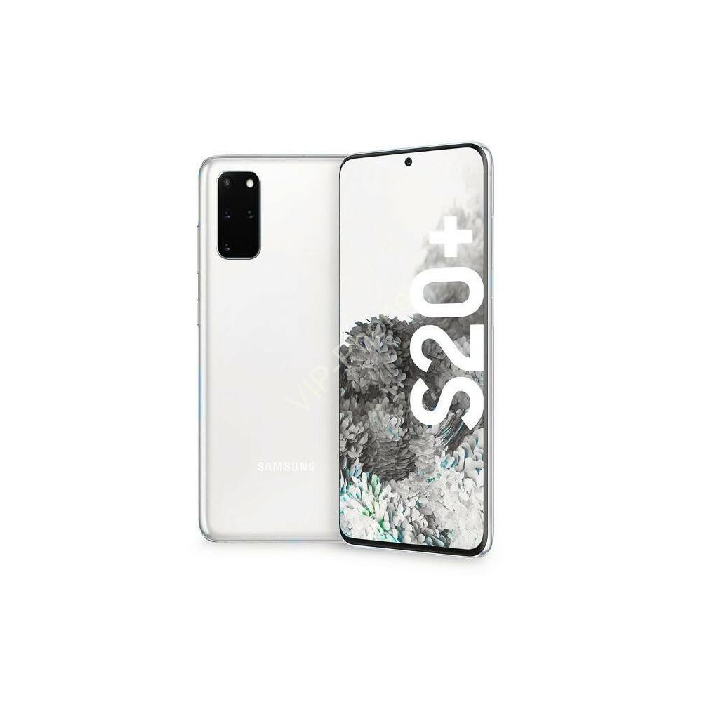 Samsung G986 Galaxy S20+ 5G 128GB Dual-Sim  fehér kártyafüggetlen mobiltelefon